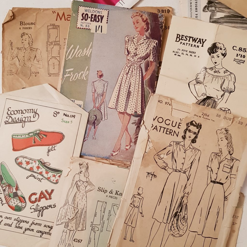 Almond rock vintage sewing patterns