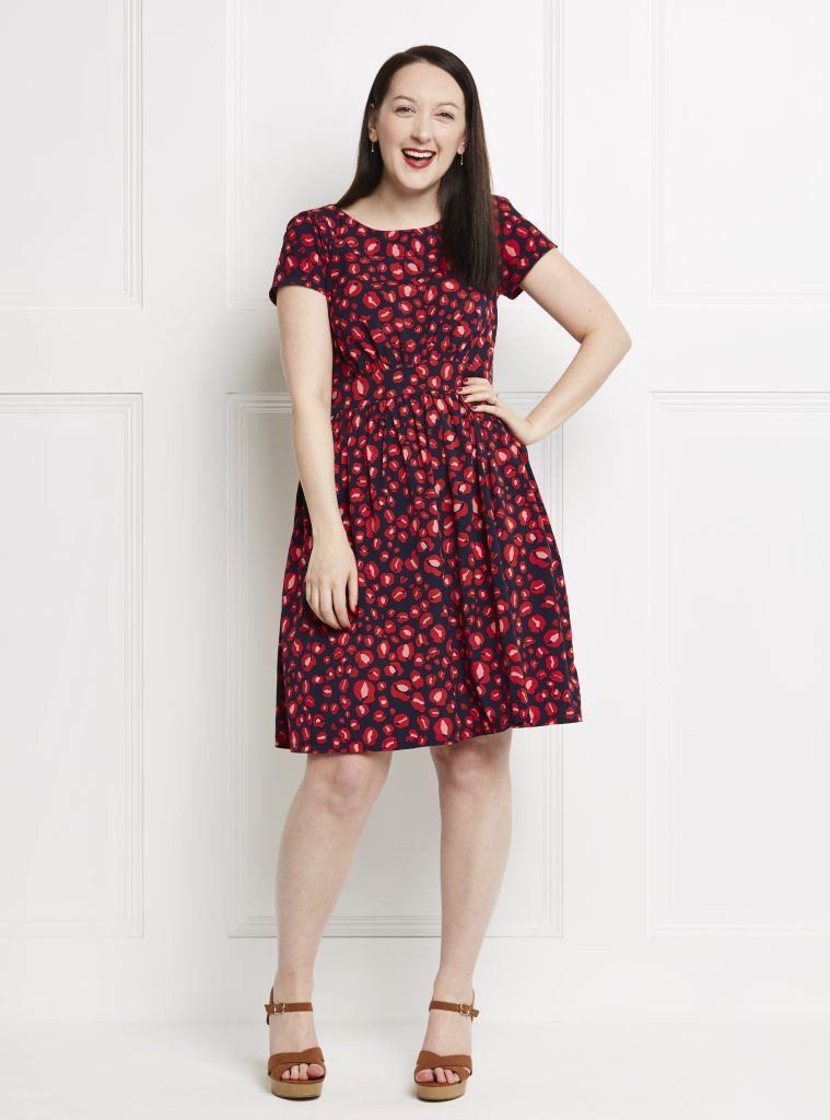 Almond rock simple sew annabelle dress fabworks