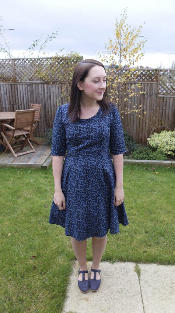 almond rock sew over it vintage shirt dress joan