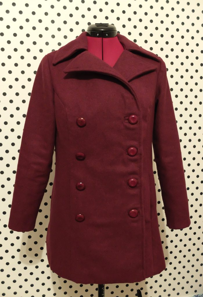 almond rock vogue 7666 peacoat sewalong