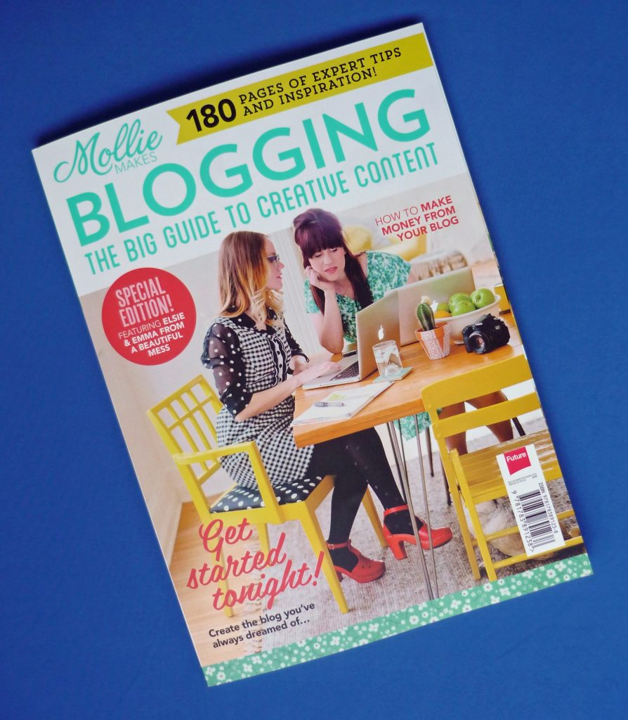 almond rock Mollie Makes Blogging special edition review