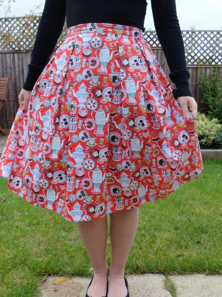almond rock pleated skirt elephant in my handbag alice wonderland teapots